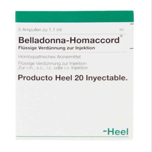 BELLADONA HOMACCORD AMP. X 5 ML