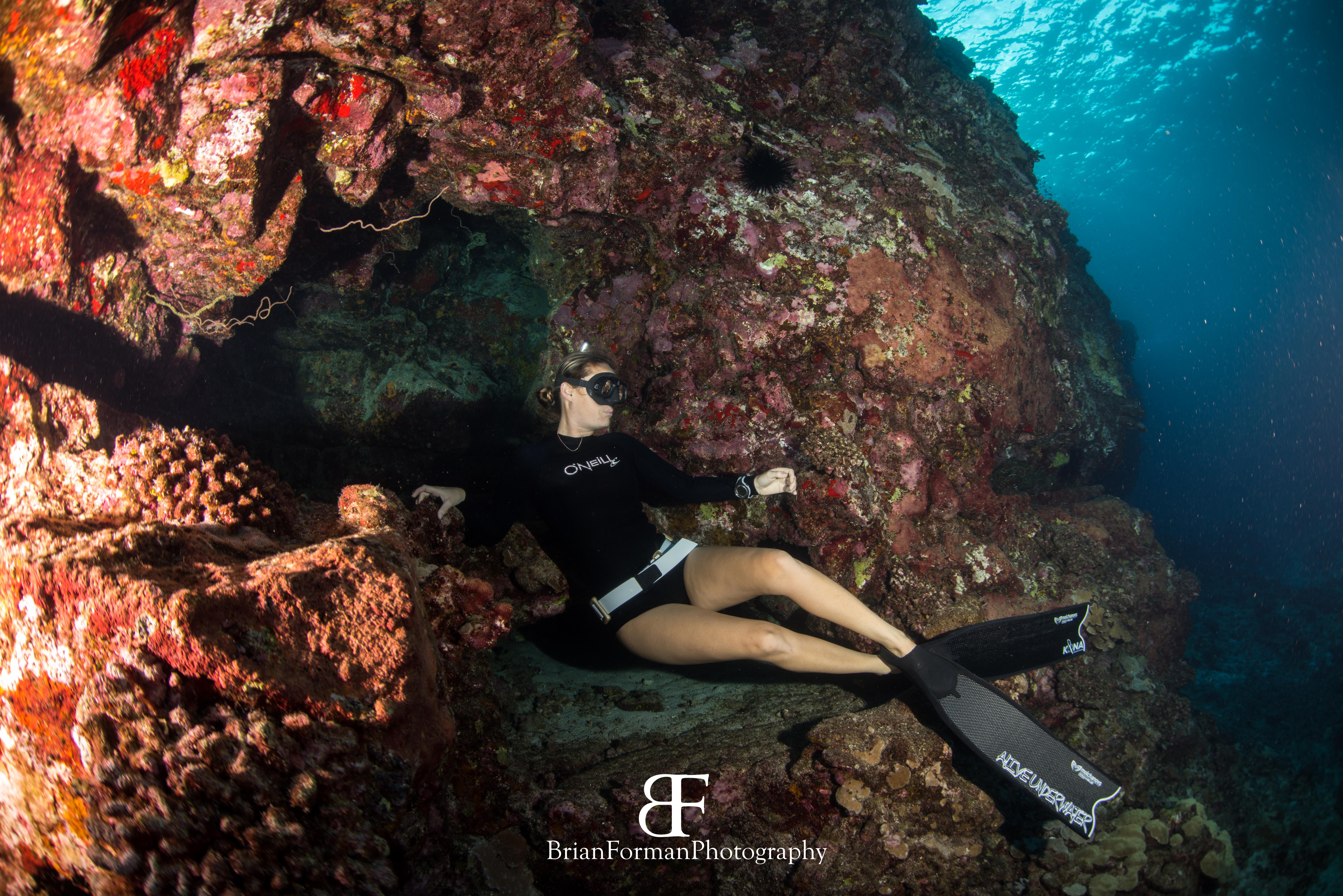 Heidi Hoover freediving