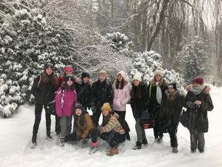Starší žákyně absolvovaly zimní turnaj v Kynžvartu