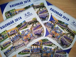 První klubový kalendář je na světě