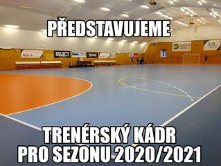 Trenérský kádr pro sezonu 2020/2021