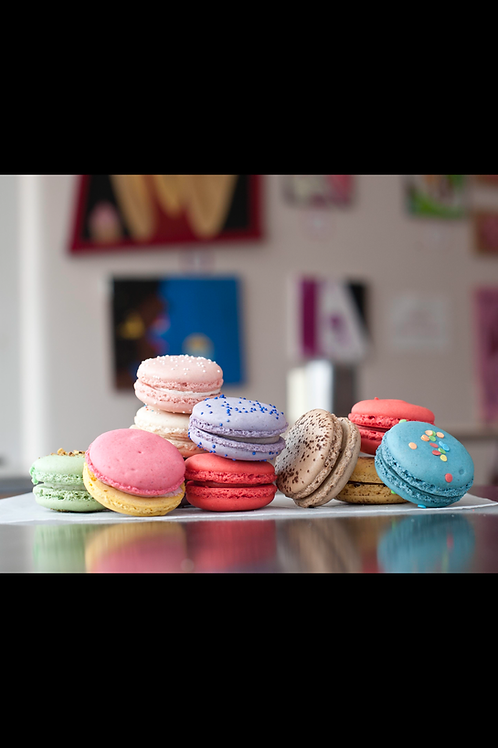 Dozen French Macarons
