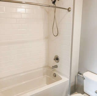 Tiled Bath and Shower