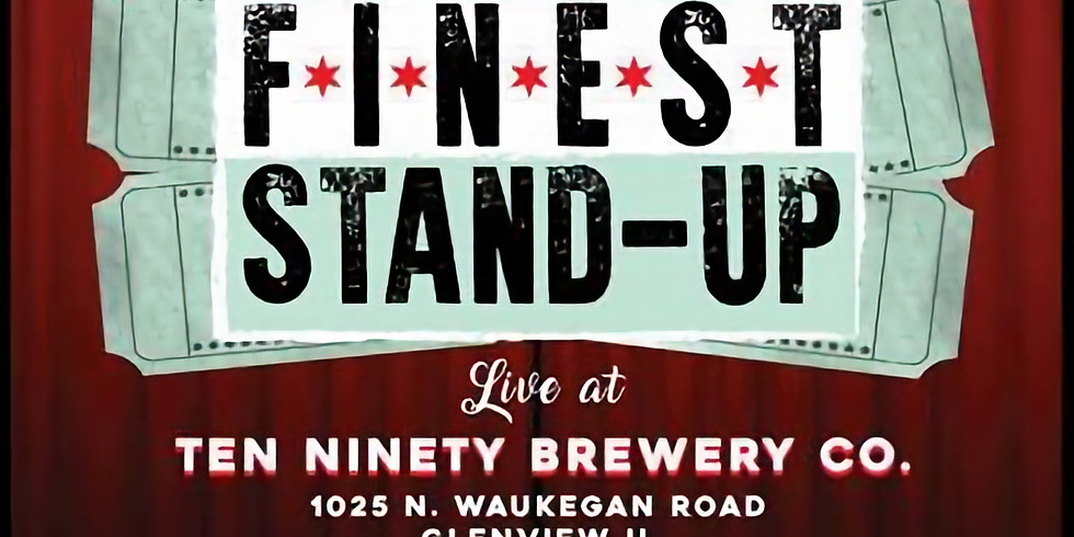 Stand-Up Comedy Show at Ten Ninety Brewing Co.