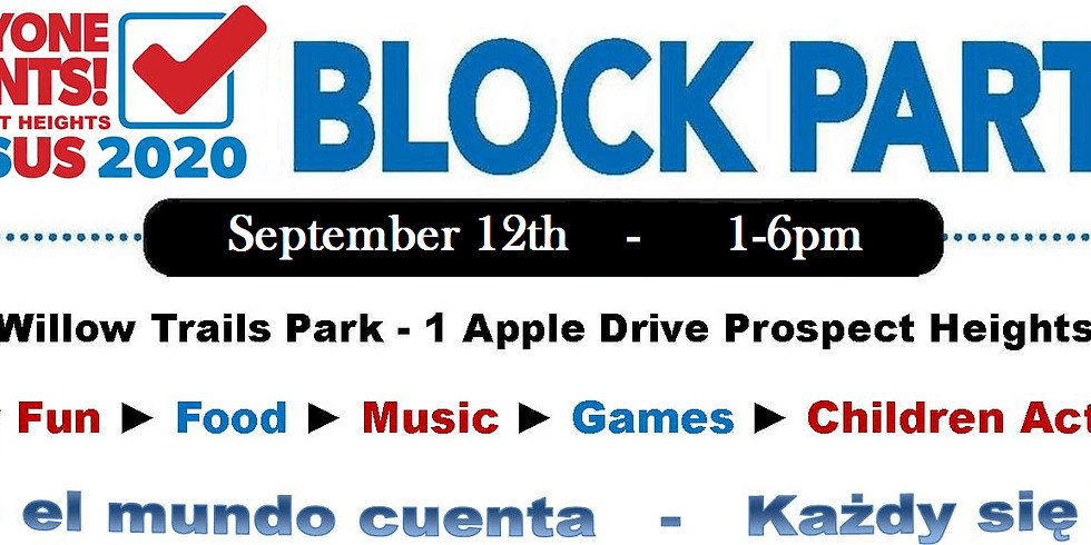 The Everyone Counts in Prospect Heights Block Party