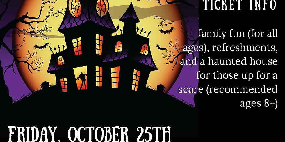 Haunted House and Halloween Party