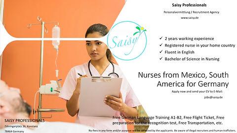 Pflegekräfte von Mexiko