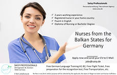 Pflegekräfte aus dem Balkan - Saisy