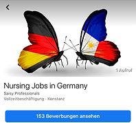 Jobs for Filipino nurses in Germany