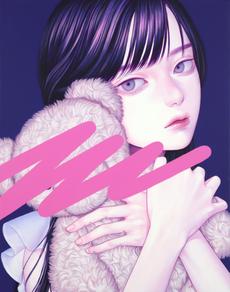 塗りつぶしⅡ, Acrylic on canvas, 279x356mm, 20