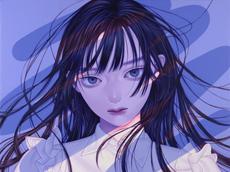 悪戯書きⅠ, Acrylic on canvas, 406x305mm, 202
