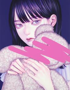 塗りつぶしⅠ, Acrylic on canvas, 279x356mm, 20