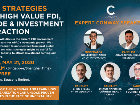 FREE WEBINAR: Asia FDI, Trade & Investment Attraction Strategies May 21 - Register Today!