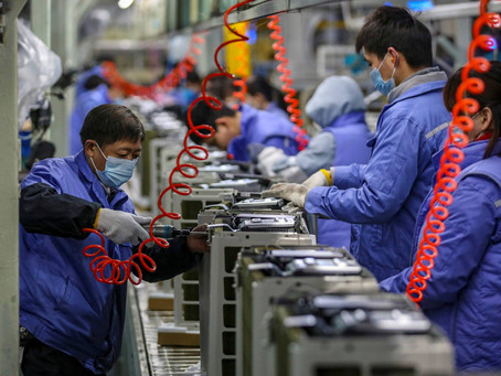 Official July China Trade Data: Chinese Industrial Sector Shows Risks of 2021 Slowdown