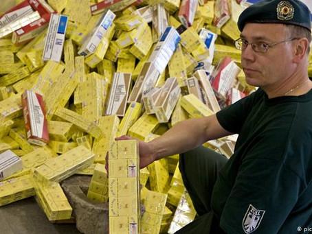 Cigarette smuggling in the UAE an EU headache