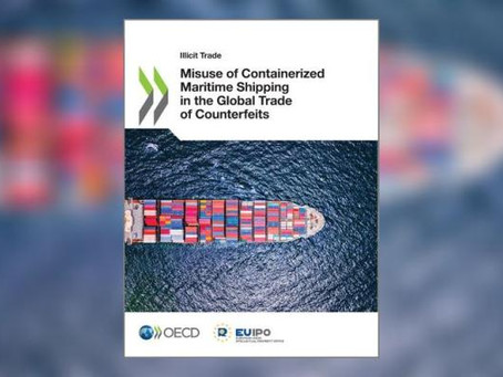 OECD Report: Misuse of Containerized Maritime Shipping in the Global Trade of Counterfeits