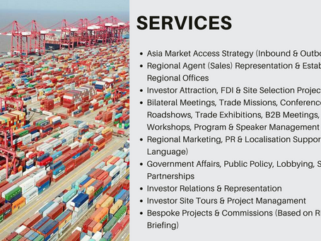 DO YOU NEED ASIA TRADE & INVESTMENT SUPPORT?