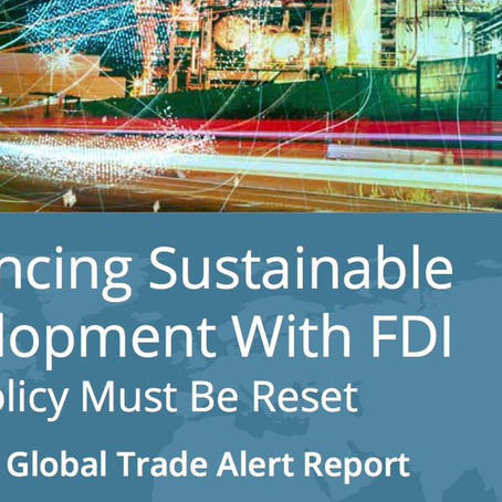 Advancing Sustainable Development With FDI: Why Policy Must Be Reset