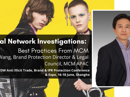 Fakes, Counterfeits & Criminal Network Investigations - Best Practices, MCM WORLDWIDE