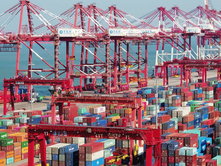 China's ports reach 'turning point' as Covid-19 backlog clears