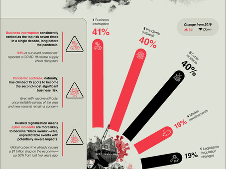 The Top 10 Biggest Business Risks in 2021