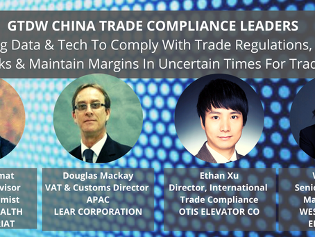 How Can Trade Compliance Heads Leverage Data & Technology In Uncertain Times For Trade?