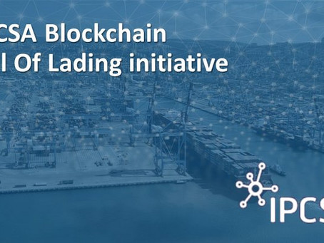 Israel Ports Company begins pilot for transferring bills of lading, using blockchain technology