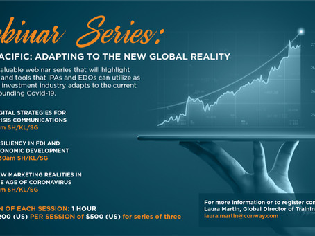 Asia FDI & Economic Development Training Series Announced!