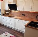 Küchenmonage, Küchenaufbau, Arbeitsplatte einschneiden
