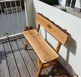 Möbelbau Balkonbänkchen DS Handwerkerser