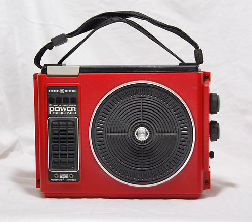 RED iPod 8track player