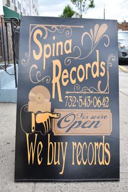 Spina records A-Frame