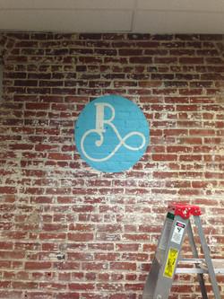 Revive R logo brick