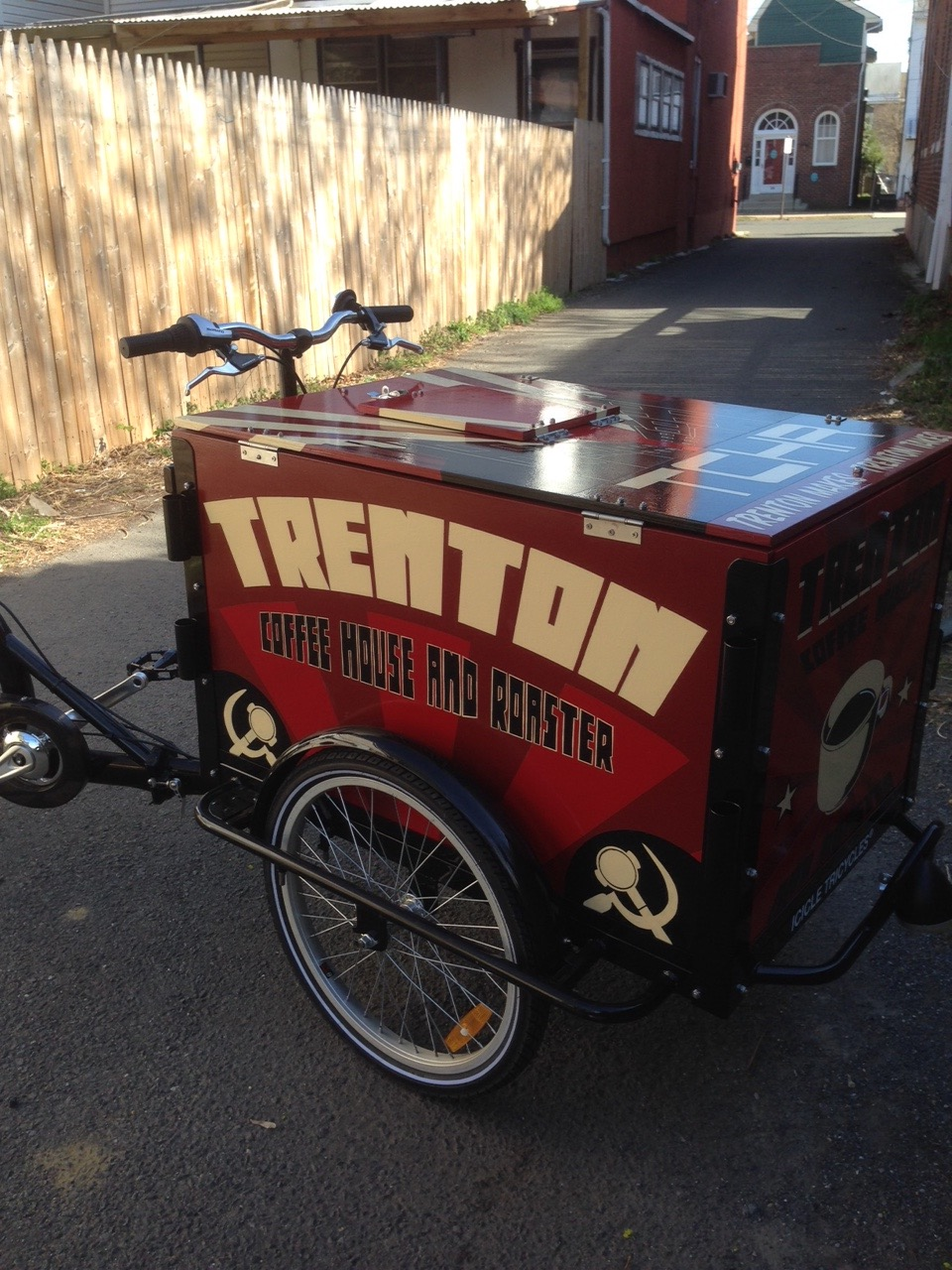 trenton coffee house cart