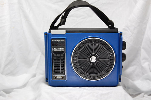 Blue iPod 8track player