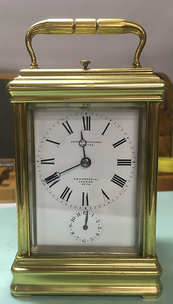 All types of clocks repaired including carriage clocks.