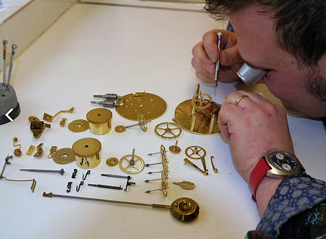 The only clock repairer in Honiton with 100% 5 star reviews on Google.