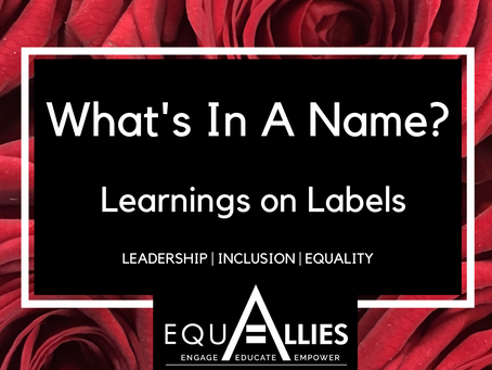 What's In A Name? Learnings on Labels