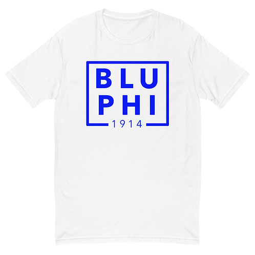 BLU PHI 1914 White Short Sleeve T-shirt
