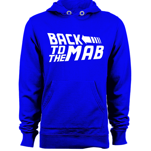 Back to the MAB Pullover Hoodie