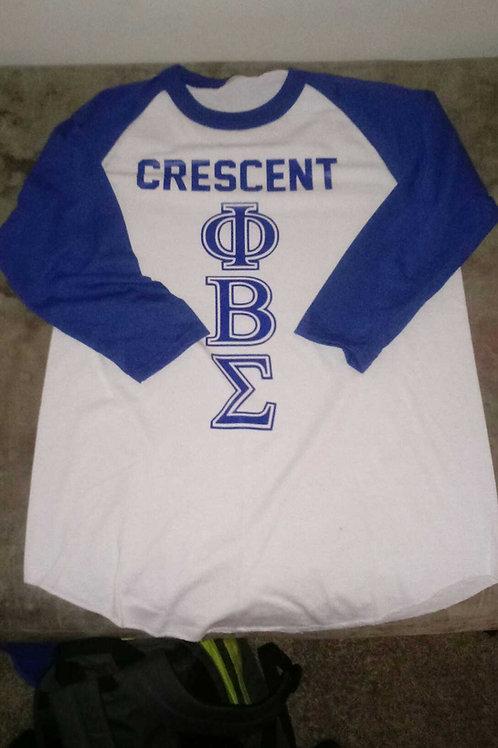 Crescent PBS 3/4 Sleeve Tee
