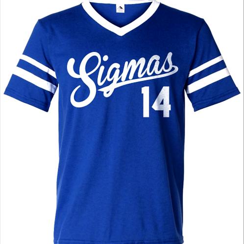 Sigmas Sleeve Stripe Jersey
