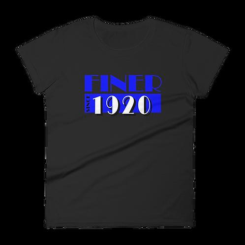 Finer MV Black short sleeve t-shirt