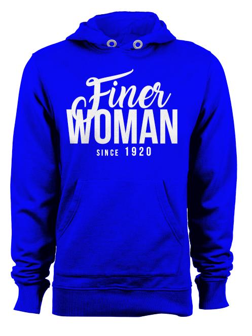 FINER WOMAN Pullover Hoodie