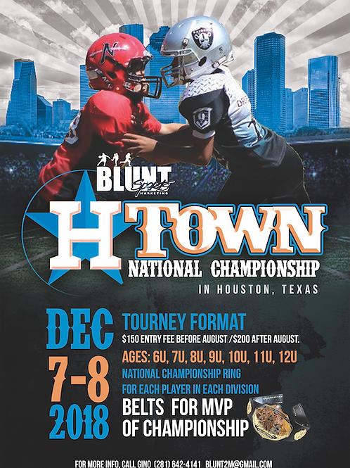 H-Town Football Flyer