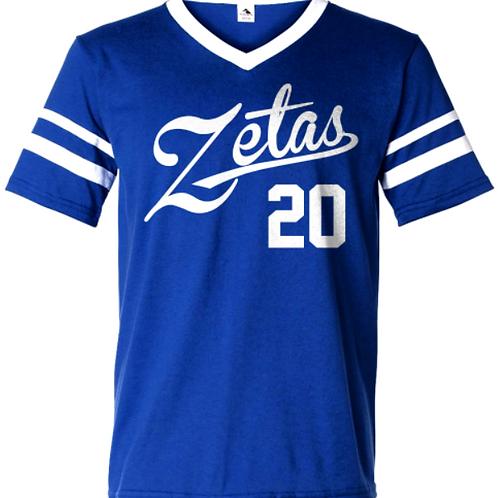 Zetas Sleeve Stripe Jersey