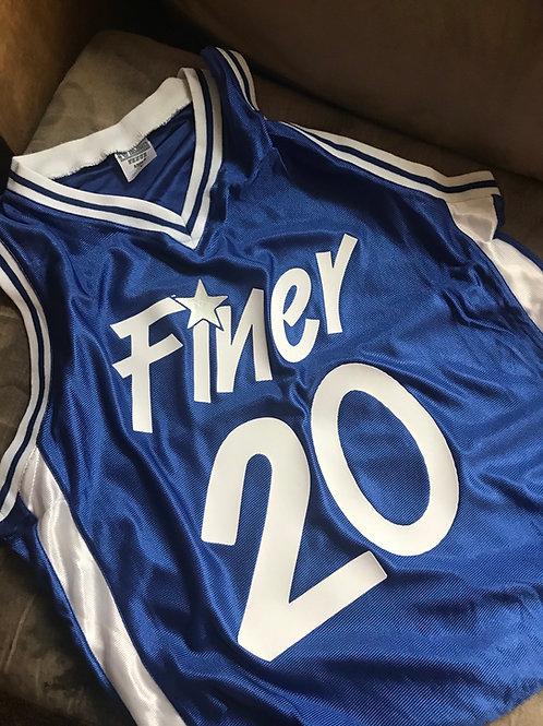 "ZPB ""Finer Magic"" Throwback Basketball Jersey"