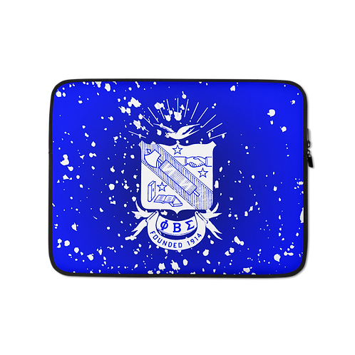 PBS Splattered Shield Laptop Sleeve