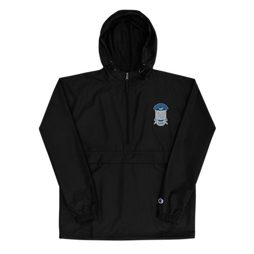 PBS Embroidered Shield Champion Packable Jacket