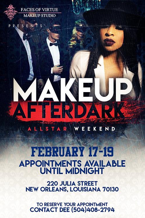 MakeUp AfterDark Flyer Template